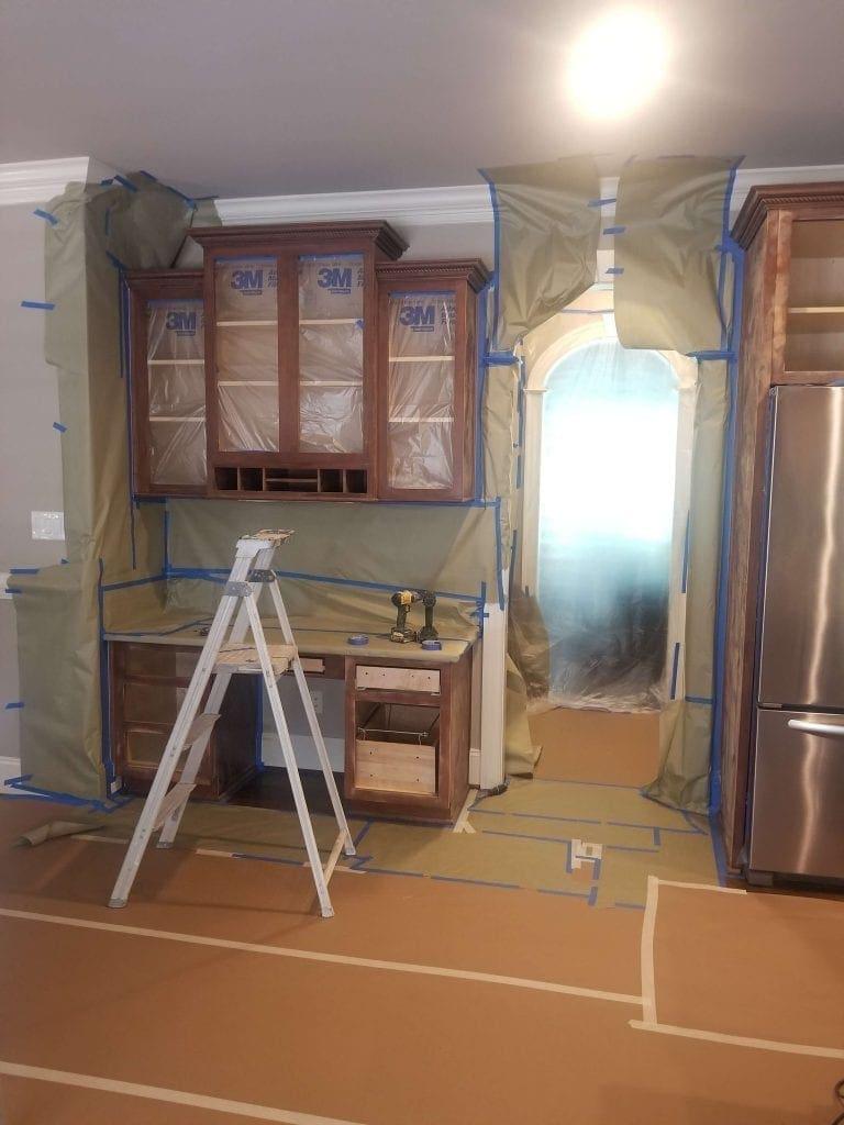 Refinish Cabinets