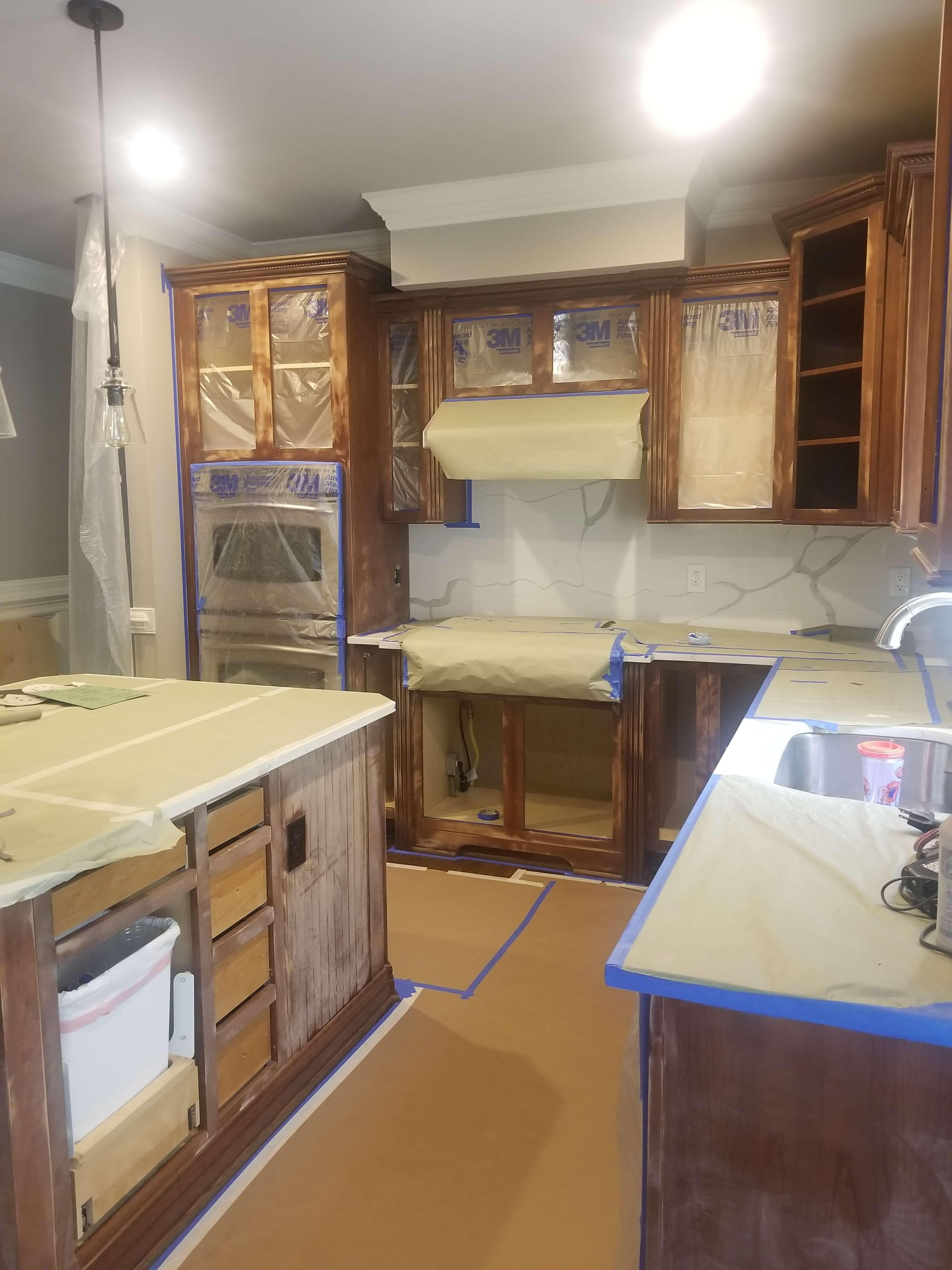 Refinish Cabinets Briar Creek June